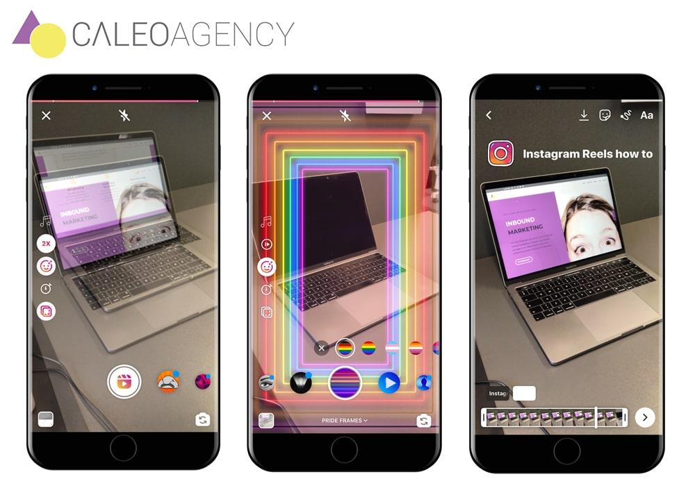 Sådan tilføjer du effekter og klistermærker til din Instagram Reels
